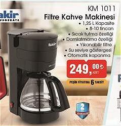 Fakir KM 1011 Filtre Kahve Makinesi image