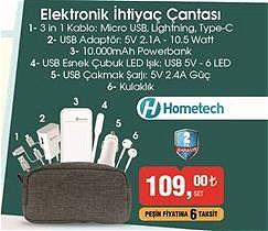 Hometech Elektronik İhtiyaç Çantası image