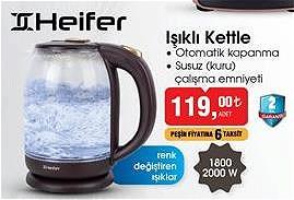 Heifer Işıklı Kettle 1800/2000 W image