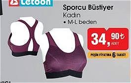 Letoon Sporcu Büstiyer Kadın image