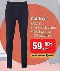 Kot Tayt Kadın image