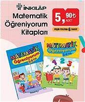 Inkılap Matematik Öğreniyorum Kitapları image