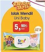 Uni Baby Rafadan Tayfa Islak Mendil 52'li image