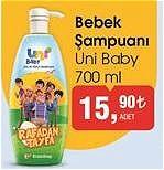 Uni Baby Rafadan Tayfa Bebek Şampuanı 700 ml image