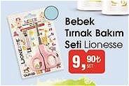 Lionesse Bebek Tırnak Bakım Seti image