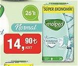 Molped Antibakteriyel Pedler Normal 26'lı image