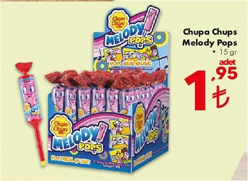 Chupa Chups Melody Pops 15 gr image