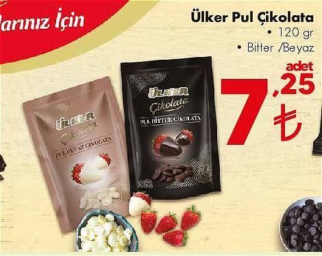 Ülker Pul Çikolata 120 gr  image