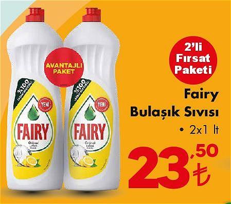 Fairy Bulaşık Sıvısı 2x1 lt image