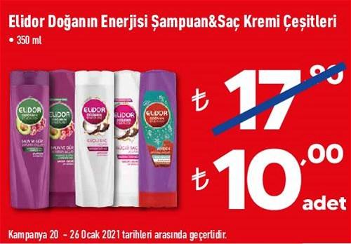 Elidor Doğanın Enerjisi Şampuan&Saç Kremi Çeşitleri 350 ml image