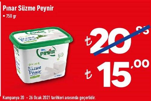 Pınar Süzme Peynir 750 gr image