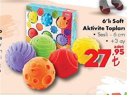 6'lı Soft Aktivite Topları  image