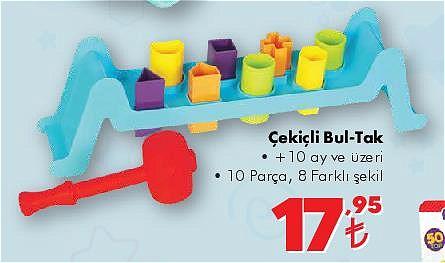 Gokidy Çekiçli Bultak 10 Parça image