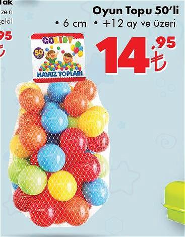 Gokidy Oyun Topu 50'li image