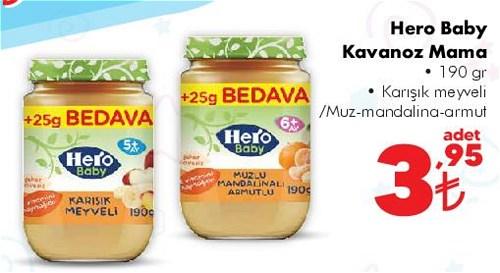 Hero Baby Kavanoz Mama 190 gr image