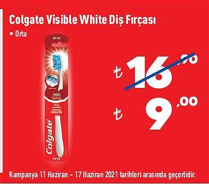 Colgate Visible White Diş Fırçası Orta image