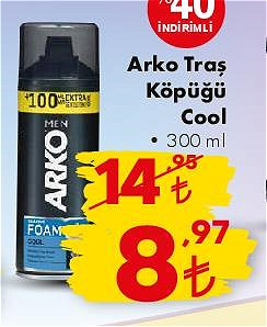 Arko Traş Köpüğü Cool 300 ml image