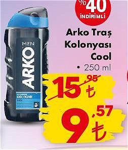 Arko Traş Kolonyası Cool 250 ml image