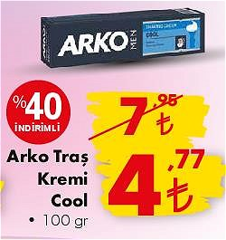 Arko Traş Kremi Cool 100 gr image