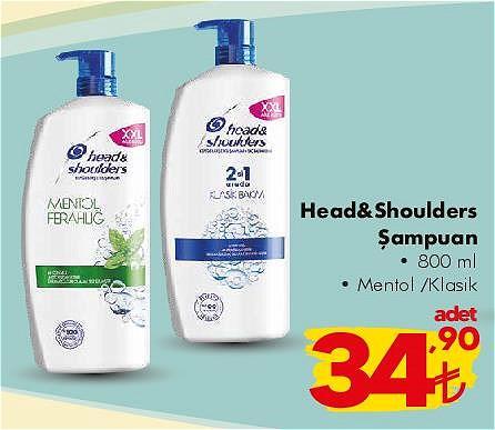 Head&Shoulders Şampuan 800 ml image