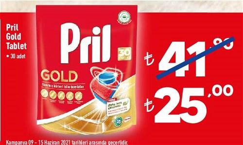 Pril Gold Tablet 30 Adet image
