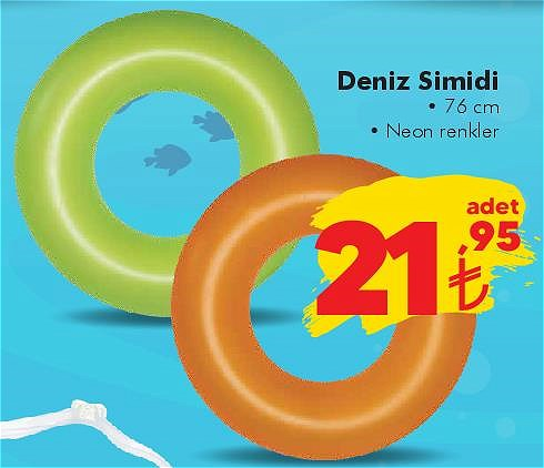 Bestway Deniz Simidi 76 cm Neon image