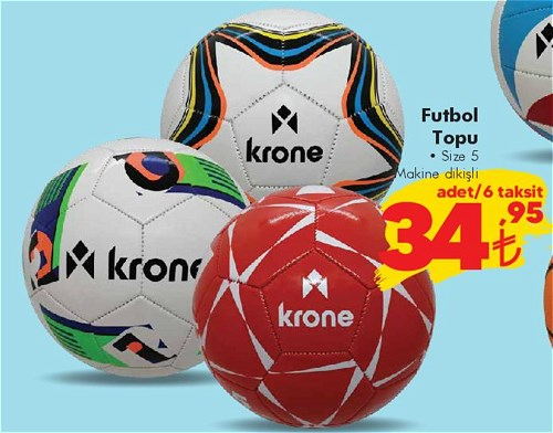 Krone Futbol Topu Size 5 image