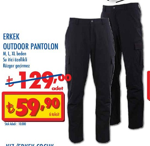 Erkek Outdoor Pantolon image