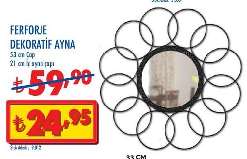 Ferforje Dekoratif Ayna  image