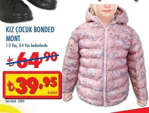 Kız Çocuk Bonded Mont image