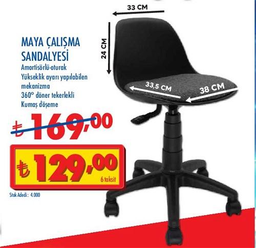 Maya Çalışma Sandalyesi image