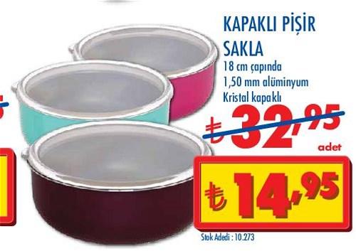 Kapaklı Pişir Sakla 18 cm image