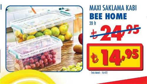 Bee Home Maxi Saklama Kabı 20 lt image