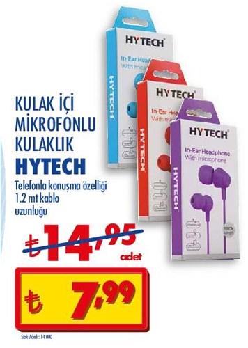 Hytech Kulak İçi Mikrofonlu Kulaklık image