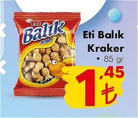 Eti Balık Kraker 85 g image