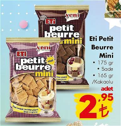 Eti Petit Beurre Mini 175 gr image