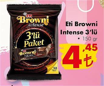 Eti Browni Intense 3'lü 150 gr image