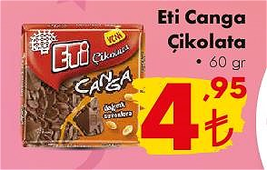 Eti Canga Çikolata 60 gr image