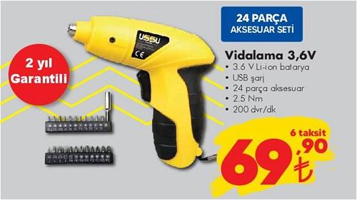 Ussu Vidalama 3,6 V 24 Parça Aksesuar image