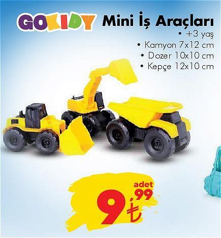 Gokidy Mini İş Araçları image