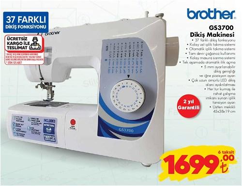 Brother GS3700 Dikiş Makinesi image