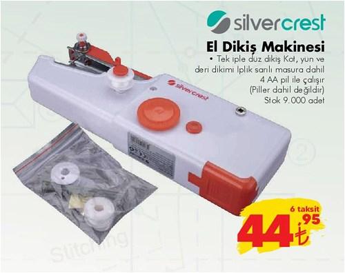 Silvercrest El Dikiş Makinesi image