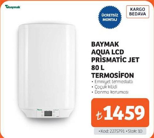 Baymak Aqua Lcd Prismatic Jet 80 l Termosifon image