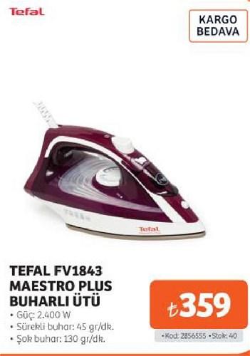 Tefal FV1843 Maestro Plus Buharlı Ütü 2400 W image