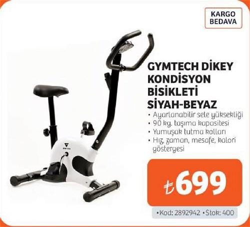 Gymtech Dikey Kondisyon Bisikleti Siyah-Beyaz image