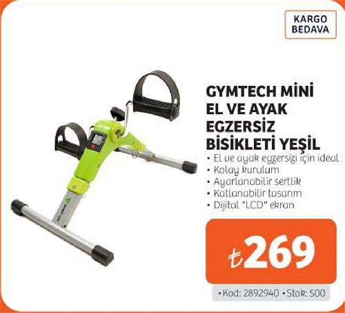 Gymtech Mini El ve Ayak Egzersiz Bisikleti Yeşil image