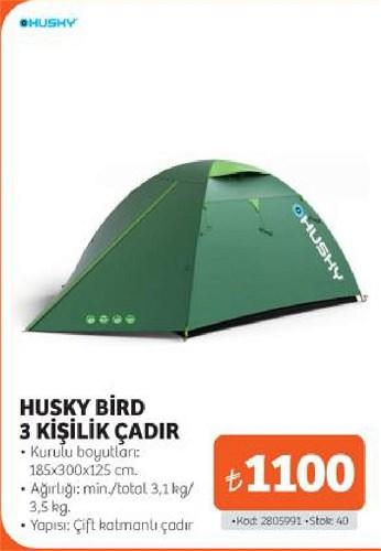 Husky Bird 3 Kişilik Çadır 185x300x125 cm image