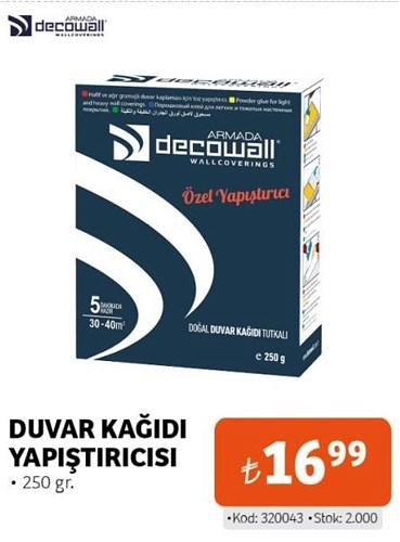 Decowall Duvar Kağıdı Yapıştırıcısı 250 gr image