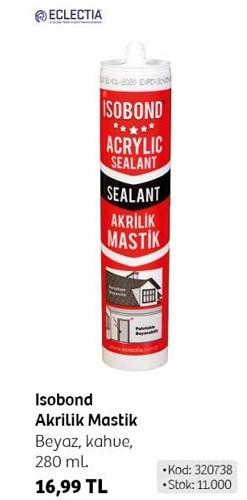 Eclectia Isobond Akrilik Mastik 280 ml image