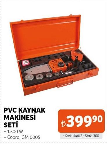 Pvc Kaynak Makinesi Seti 1500 W image